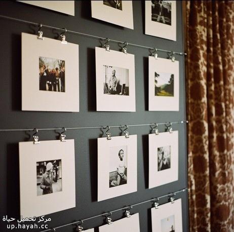 افكار جديدة لعرض الصور في منزلك 9zdQw.jpg