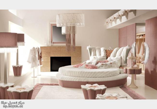 غرف نوم رائعه للنساء